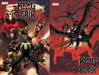 King in Black 1 2020 Main Cover + Ryan Stegman Variant Set  Cates Marvel NM 12/2