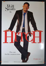 Hitch (Advance) 2005 Original Movie Poster 27x40 Rolled, Double-Sided