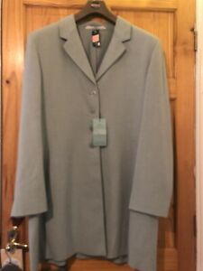 M&S Longline Jacket And Skirt Outfit Size 22