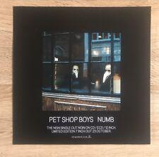 Pet Shop Boys Numb Promo Poster Very Rare