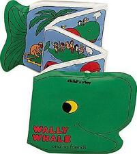 NEW  WALLY the WHALE Child's Play BATH BOOK with SQUEAKER