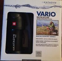 Katadyn Vario Hiker Water Filter 3 Stage Micro-Filter System WA22-KY1