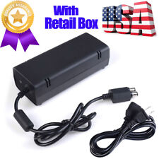 TX SHIP AC Adapter Wall Charger Power Supply Cable Cord Brick For Xbox 360 Slim