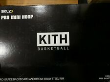 Kith x Sklz Pro Mini Hoop & Ball set in Black, Box Logo Fieg Brand New! Limited