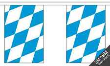 Bavaria No Crest -  3 metre long, 10 flag bunting