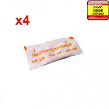 4x Pasta termica blanca en sobres monodosis de 0.5gr para CPU VGA PS3 PS4 Xbox