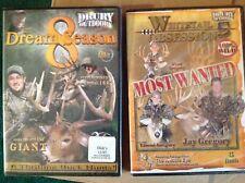 Lot of Nwt Drury Outdoors Dvd Videos - Dream Season 8 & Whitetail Obsession 5
