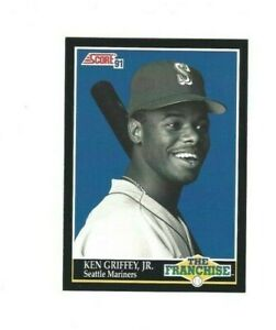 1991 Score KEN GRIFFEY JR. #858 Seattle Mariners EX