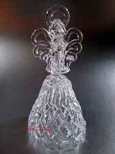 Bell Angel Beautiful Russian crystal glass Exquisite sound Handmade #14