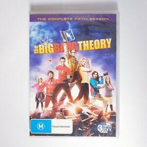 The Big Bang Theory Season 5 DVD TV Series Free Post Region 4 AUS - Comedy