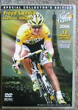 2006 Tour De France World Cycling Productions 6 DVD 12 hrs Floyd Landis Clean