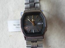 Nuevo viejo stock Vintage Seiko 5 Reloj Automático ded 25-P Cal 6309 DEC 1982