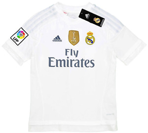Real Madrid 2015-16 Home Jersey (XL) *BRAND NEW W/TAGS*