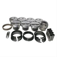 """WISECO-PRO TRU PTS503A3 Pistons Forged Flat 4.030"""" Bore For Chevy SB Set of 8"""