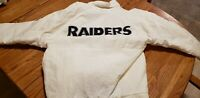 VINTAGE Oakland  Raiders NFL Apex One Full Zip  Jacket 90's puffy style small