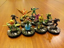Heroclix Trinity War Completa 10 Figura Gravity Feed Counter Set 201-210