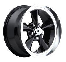 15x8 Us Mag Standard U107 5x4.75 et1 Black Gloss Wheel (1)
