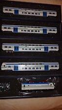 """Vitrains Treno Regionale  """"Vivalto"""" CDPTR 2a serie + locomotiva E464 DCC SOUND"""