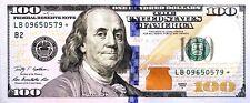 FIVE 2009A $100 STAR ✯ NOTE~$100 DOLLAR BILL~LB09650579-83* Crisp Uncirculated