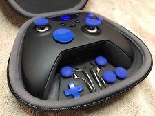 CUSTOM Elite Xbox One 1 Controller -BLUE Led, Buttons, ABXY w/ Letters,Joysticks