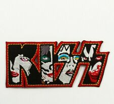 """US SELLER!!! KISS (MULTI) ~ IRON ON PATCH ~ 4"""" X 2"""" PATCH ~ HEAVY METAL ~ NEW!"""