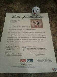 EXTREMELY RARE Michael Jordan Signed Golf Ball PSA/DNA LOA