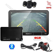 XGODY Portable 7'' Sat Nav GPS 8GB Bluetooth with Reversing camera Free 3D maps