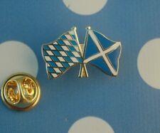 Freundschaftspin Bayern Schottland Pin Badge Button Anstecknadel Anstecker