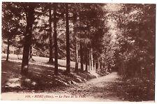 CPA 60 - MERU (Oise) - 109. Le Parc de la Ville - Ed. J. Brard
