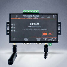 HF Wifi Module Serial Server RS232 RS485 RS422 to 4G 3G  Network Converter