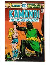 KAMANDI #40 (VF+) Classic Jack Kirby Art! Joe Kubert Cover Art! 1976 DC Comic