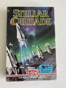 SSI STELLAR CRUSADE*Rare*Space Simulation PC Game***Tested & Works***