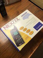 *New* Motorola Nextel iDen i370xl cellular telephones ~Lot of 4~