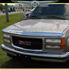 1995-1999 Tahoe Yukon Sub Chrome Bugshield Deflector Hood Protector WRAPAROUND