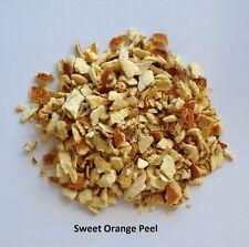 ORANGE PEEL Dried 50g Organic Citrus Herb Tea Baking NO DYES or Additives