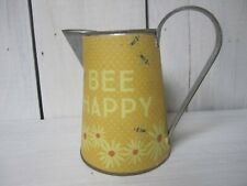 Bee Happy Rustic Pitcher
