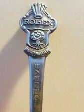 """Rolex - Bucherer of Switzerland GENEVE Spoon....Demitasse..4 1/2"""""""