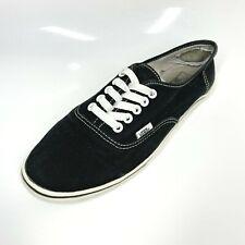 Vans Iconic Trainers Sneakers UK7.5 EU41.5 Black Unisex (1306 B15)