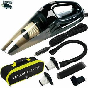 Upgraded Car Vacuum Cleaner,High Power DC12-Volt Wet&Dry Handheld Vacuum Cleaner