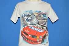 vintage 90s DALE EARNHARDT JR #8 OREO RACING NASCAR t-shirt YOUTH LARGE YL