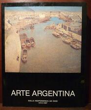 Pittura dipinti Arte Argentina da Indipendenza a Oggi 1987 ist. latino americano