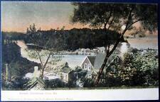 CHRISTMAS COVE  Maine~1900's SUNSET ~ HOME RESIDENCE ~ LAKE & RIVER