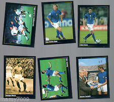 6 FIGURINE N°14-26-52-68-118-163=SUPER ALBUM IN AZZURRO=PANINI MODENA