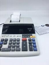 Sharp El-1197Piii 12 Calculator Adding Machine Electronic Receipt Printing