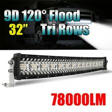"TRI-Row 32inch 1800W Curved LED Light Bar Spot Flood Truck Offroad VS 30""34""36"""