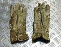 Genuine British Military MTP Camo Leather Combat Gloves MK2 MVP  All Sizes