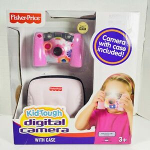 Fisher Price KID TOUGH DIGITAL CAMERA PINK 2007 TOTY 8Mb BRAND NEW IN PACKAGE