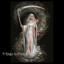 *LIFE BLOOD* Anne Stokes Fantasy Gothic Reaper Art Blank Greeting Card (AN82)