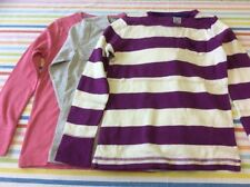 Mini Boden Striped Crew Neck Girls' T-Shirts & Tops (2-16 Years)