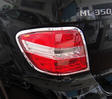 Mercedes ML W164 ML350 Chrome Taillight Trim Bezels by Luxury Trims 2006-2011